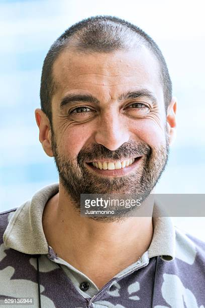 mature man smiling - moroccan culture stock pictures, royalty-free photos & images