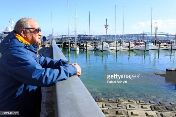 mature man visit in auckland new zealand - rafael ben ari stock pictures, royalty-free photos & images