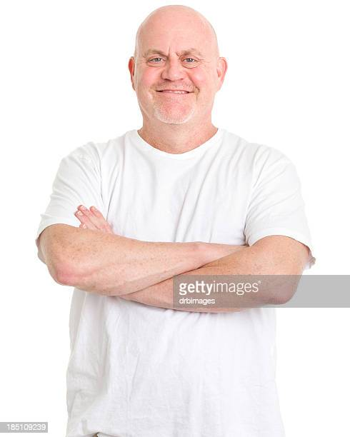 Mature Man With Arms Crossed