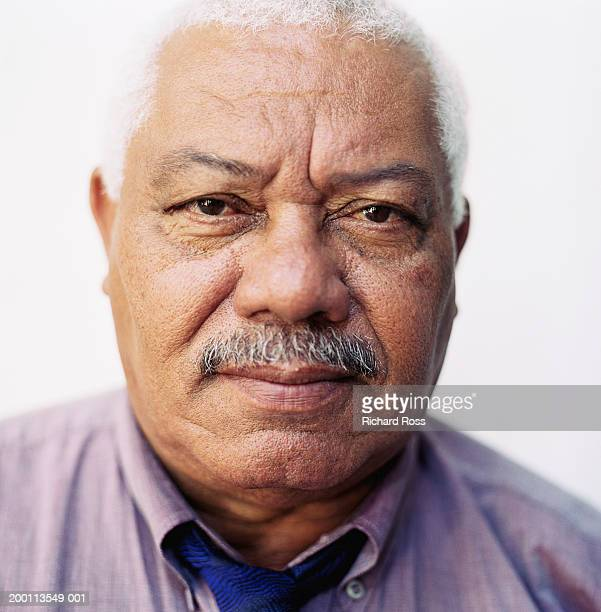 Mature man with mustache, portrait