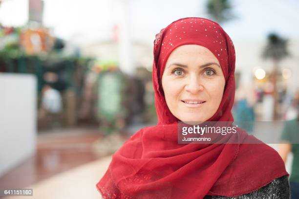 mature muslim woman - syrian culture stock photos and pictures