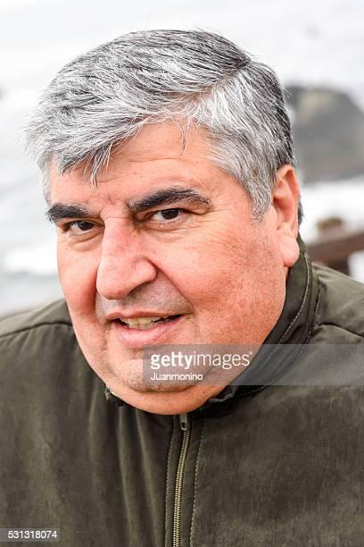 Mature Overweight Man