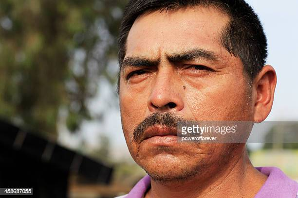 Mature Peruvian Man Portrait