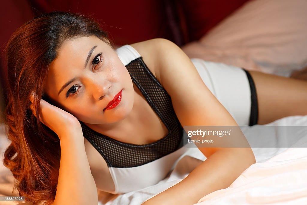 Reife Sexy Asiatische Frau Stock Foto Getty Images