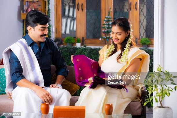 mature south indian couple - stock images - south stock pictures, royalty-free photos & images