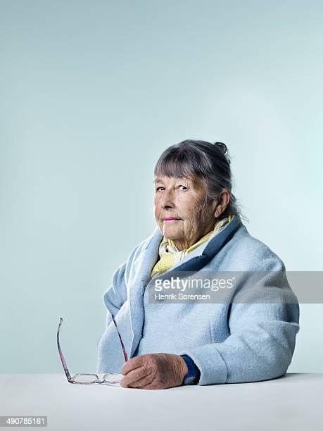 Mature thoughtful woman