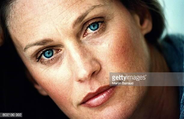 Mature woman, close-up, portrait