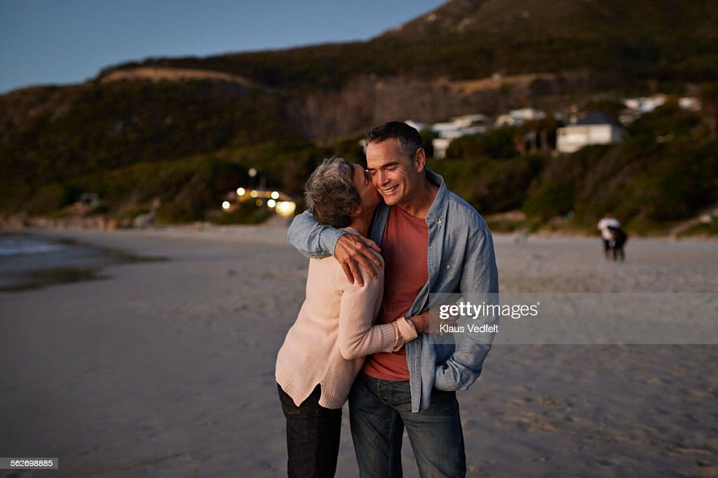 Mature Woman and Boyfriend