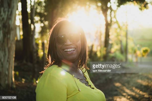 Mature woman outdoor