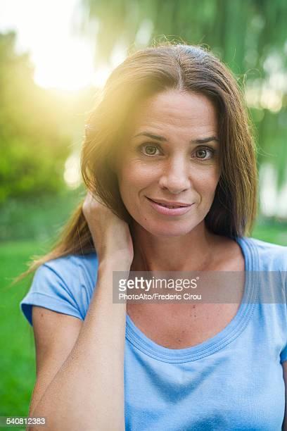 Mature woman, portrait