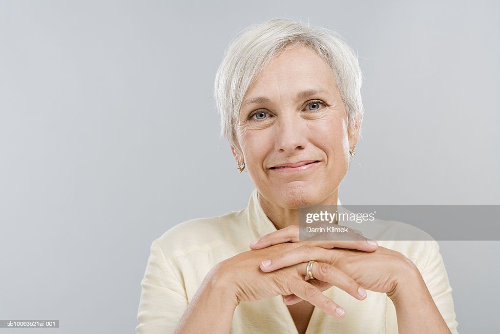Mature woman, portrait : Foto de stock