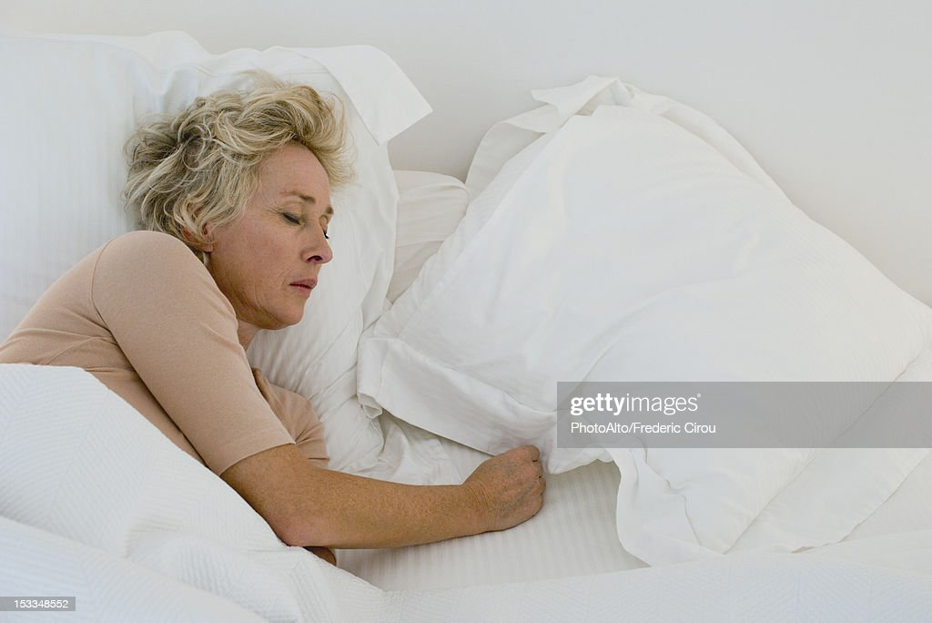 Mature Sleeping Women