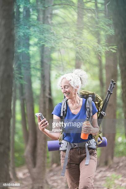 Mature Woman Solo Hiking