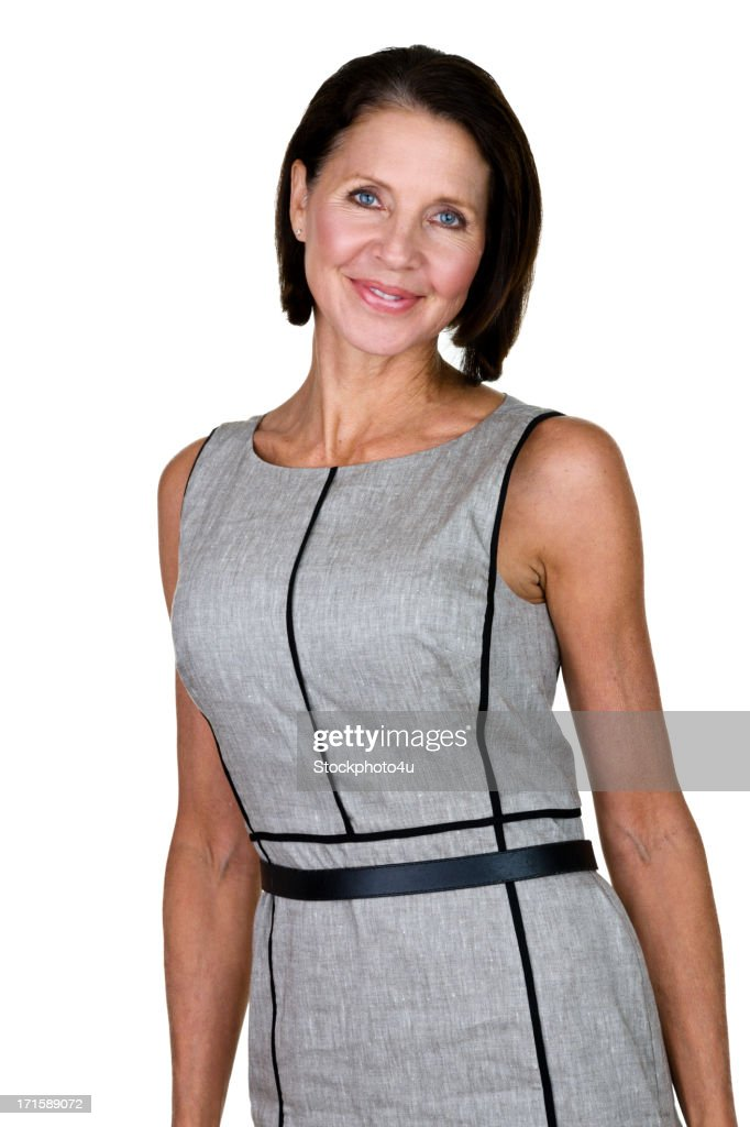 Mature Woman Wearing A Dress Stock Photo  Getty Images-9997