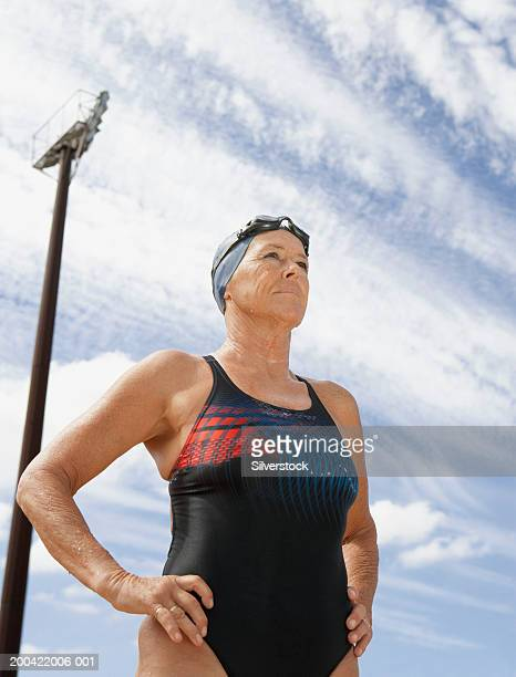 Mature Women Swimsuit Stock Photos And Pictures  Getty Images-8641