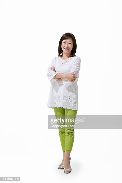 Mature Woman With Arm Crossed