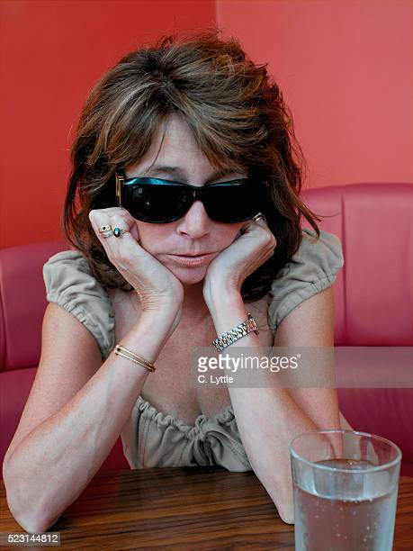 Mature Woman with Hangover