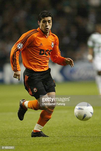 Matuzalem Francelino Da Silva of Shakhtar Donetsk during the UEFA Champions League Group F match between Celtic and FC Shakhta Donetsk on November 2...