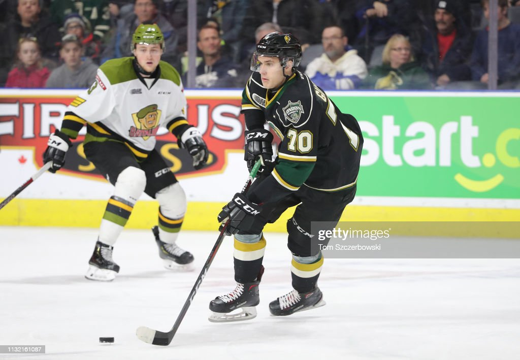 North Bay Battalion v London Knights : News Photo