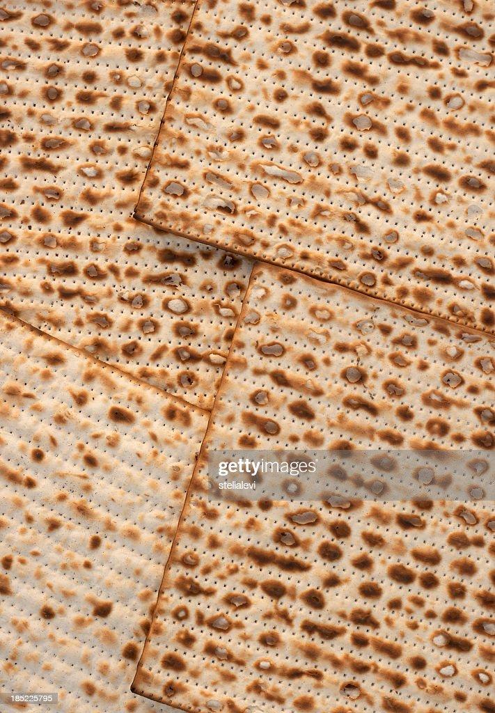 Matzo bread background : Stock Photo