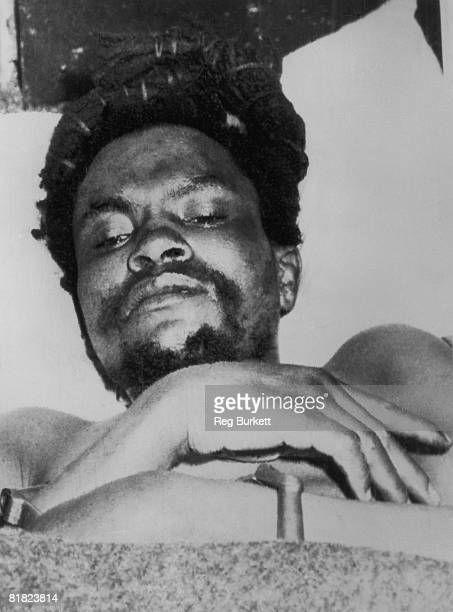Mau Mau leader Dedan Kimathi lies in hospital at Nyeri in Kenya following his capture in a mountain ambush 21st October 1956 He was executed a few...