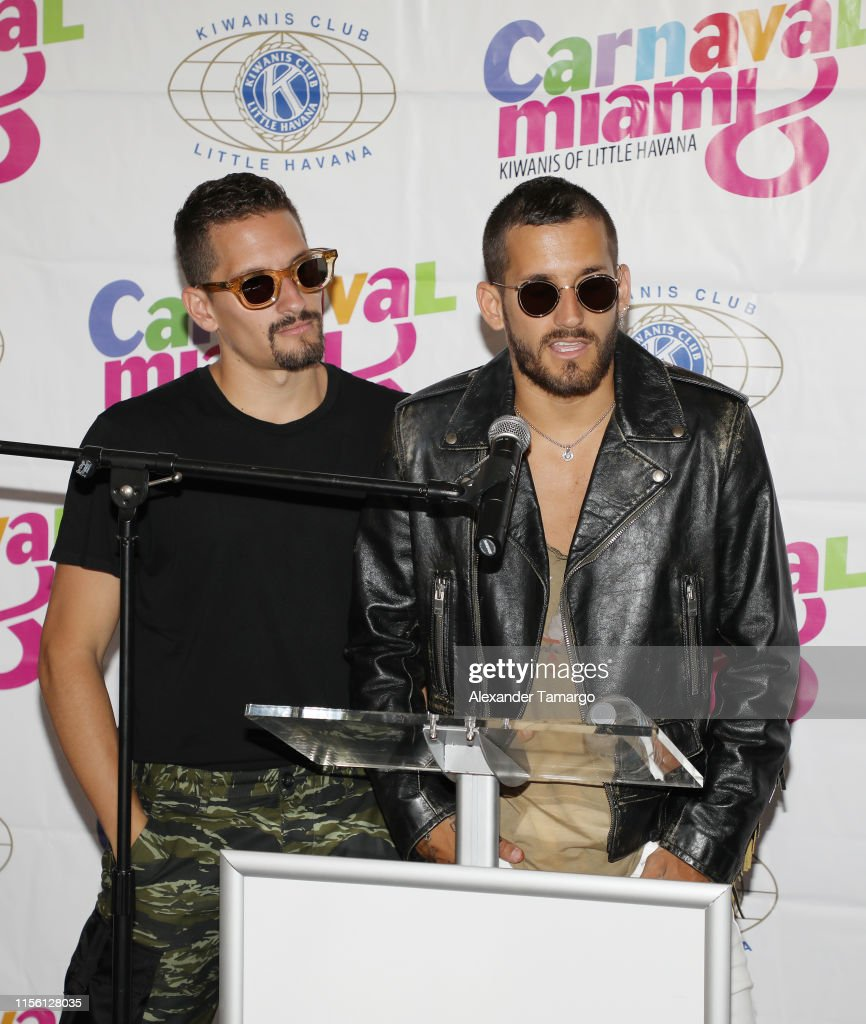 Alexander Mau mau montaner and ricky montaner of the musical group mau y