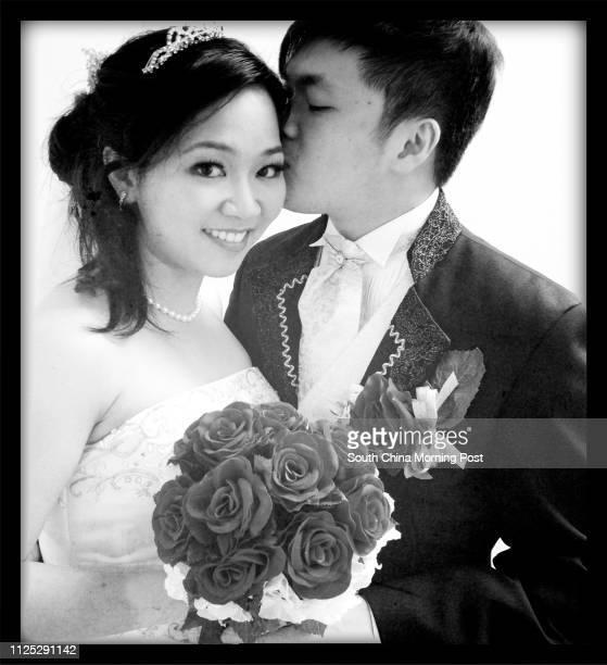 Mau Wengho and husband Choi Takfai Valentine's Backpage 15 February 2012
