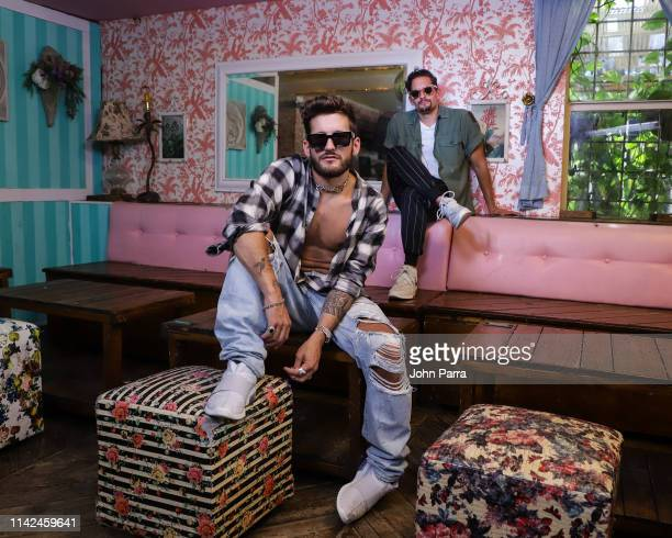 Mau y Ricky pose for a portrait on May 8 2019 in Miami Florida