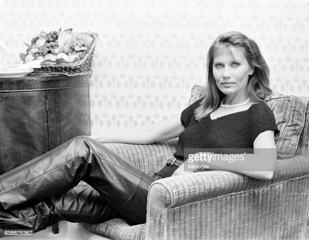 Maud Adams actress who will be starring in new James Bond film Octopussy as title character Octopussy a smuggler pictured London 2nd June 1983