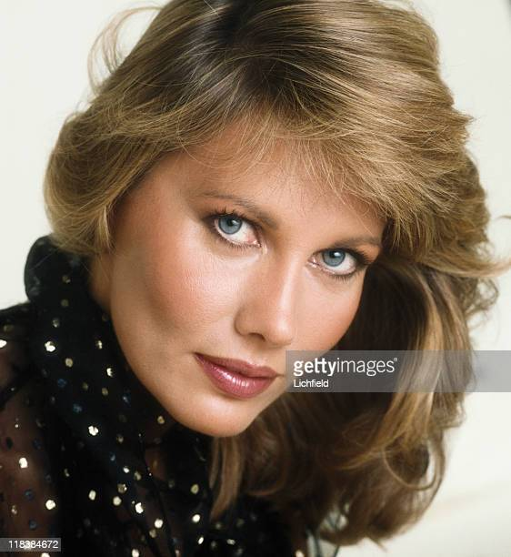 Maud Adams Swedish model actress and presenter Los Angeles USA 8th October 1980