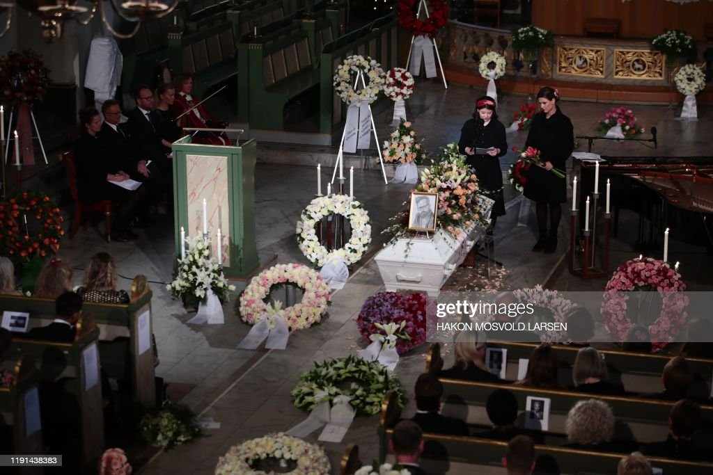 NORWAY-FUNERAL-ROYAL : News Photo