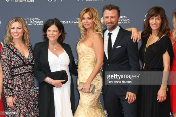 Maud Baecker Charlotte Valandrey Ingrid Chauvin Alexandre Brasseur and Anne Caillon attend the opening ceremony of the 58th Monte Carlo TV Festival...