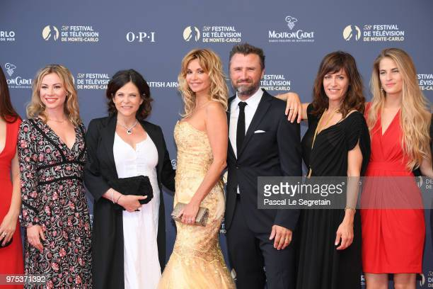 Maud BaeckerCharlotte ValandreyIngrid ChauvinAlexandre Brasseur Anne Caillon and Solene Hebert attend the opening ceremony of the 58th Monte Carlo TV...