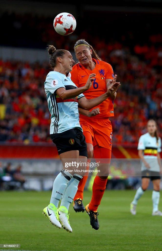 Belgium v Netherlands - UEFA Women's Euro 2017: Group A