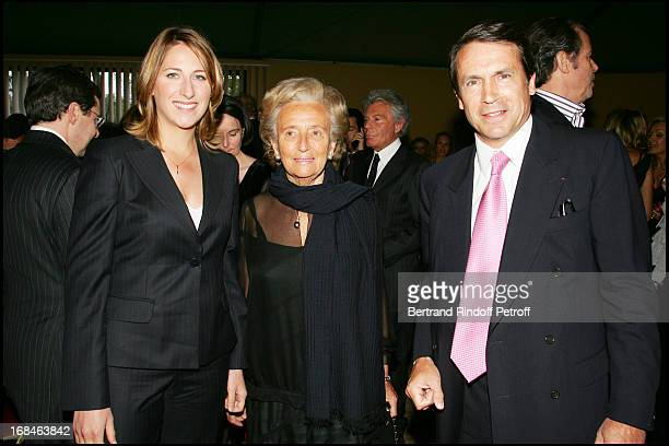 Maud Fontenoy Jean Paul Agon and Madame Jean Jacques Lebel at Party Action For Innocence Supported By The Maison Piaget