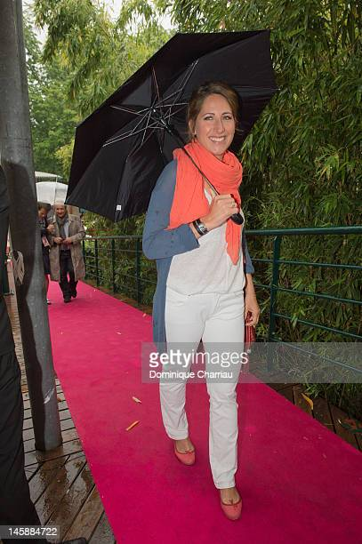 Maud Fontenoy sightings during the french open at Roland Garros on June 7 2012 in Paris France