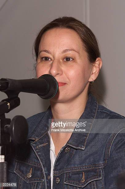 Maud Nadler VP Independent Productions for HBO Films at the 'Pitch Me The Sequel'at the Variety Cannes Conference Series 2001 at the Variety Pavilion...
