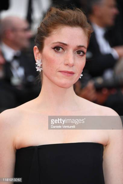 Maud Wyler attends the screening of Oh Mercy during the 72nd annual Cannes Film Festival on May 22 2019 in Cannes France