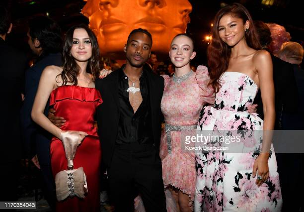 Maude Apatow Algee Smith Sydney Sweeney Zendaya attend HBO's Post Emmy Awards Reception on September 22 2019 in Los Angeles California