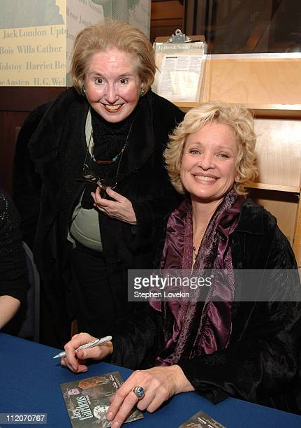 Maude Davis a cousin of Edith Bouvier Beale with Christine Ebersole who portrays Little Edie in the Broadway musical Grey Gardens