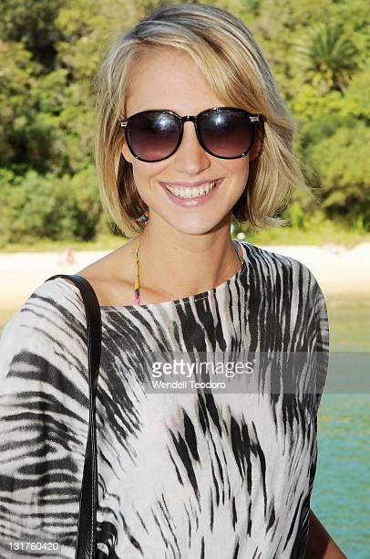 Maude Garrett attends the Stab Magazine and Von Zipper sunglasses Shark Fin Soup party on November 1 2009 in Sydney Australia