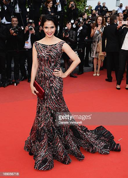 Maudy Koesnadi attends the Premiere of 'Inside Llewyn Davis' during the 66th Annual Cannes Film Festival at Palais des Festivals on May 19 2013 in...