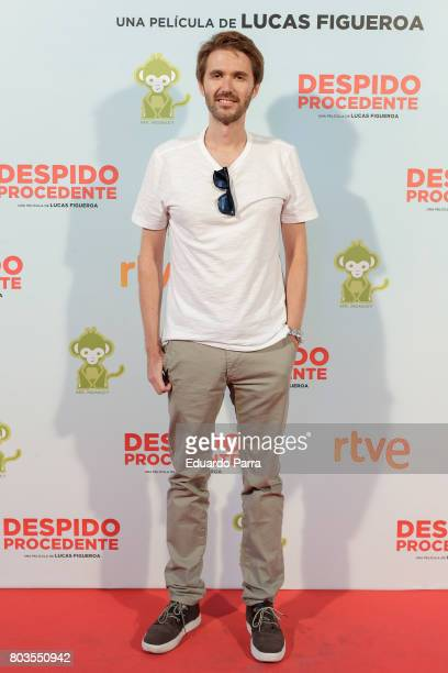 Mauel Velasco attends the 'Despido procedente' photocall at Callao cinema on June 29 2017 in Madrid Spain