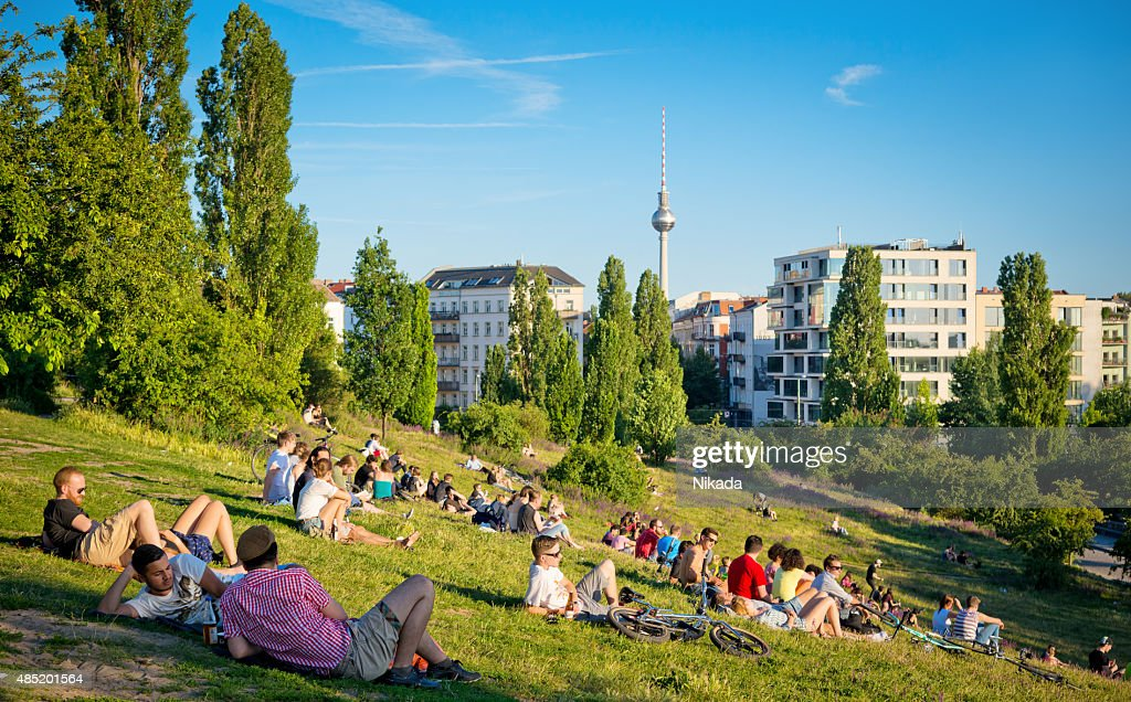 Mauerpark in Berlin, Germany : Stock Photo