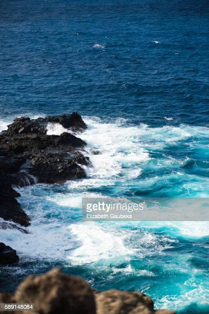 maui lahaina coast - hawaii inselgruppe stock-fotos und bilder
