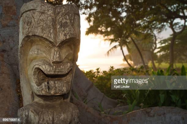 Maui Tiki at sunset