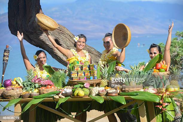 TOP CHEF 'Maui Wowie' Episode 1116 Pictured Native Hawaiians reveal Spam as quickfire challenge