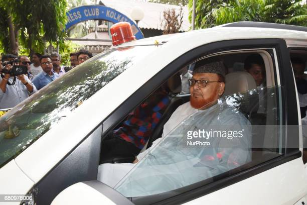 Maulana Nurur Rahman Barkati Shahi Imama of Tipu Sultan Mosque of Kolkata use Red Light VVIP symbol Car Indian Government ban 1st May 2017 red light...