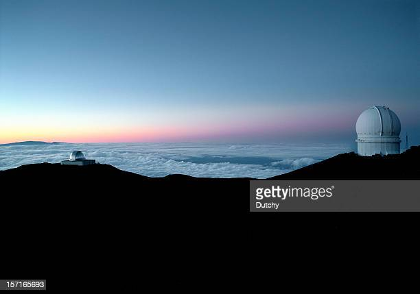 Mauna Kea observatories, Hawaii.