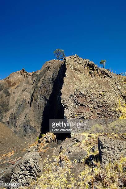 mauna kea, shield volcano, big island, hawaii, usa - hawaii inselgruppe stock-fotos und bilder